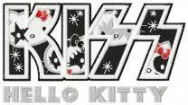 Hello Kitty KISS logo