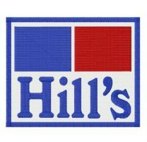 Hill's alternative logo embroidery design