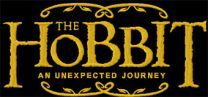 Hobbit An Unexpected Journey movie logo machine embroidery design