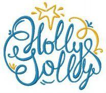 Holly Jolly star