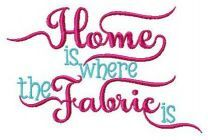 Home is where fabric is