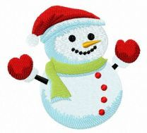 Hooray! Snowman
