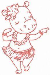 Hula dance