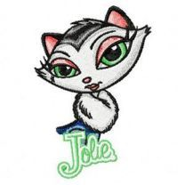 Jolie embroidery design