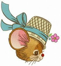 Lady mouse