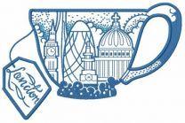 London tea cup