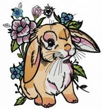 Lop-eared bunny 3
