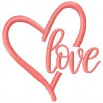 Love pink heart 3