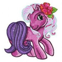 My Little Pony embroidery design 5