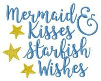 Mermaid & Kisses Starlish Wishes 1