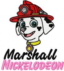 Marshall embroidery design 2