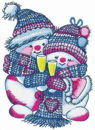 Merry Xmas snowmen