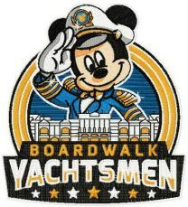 Mickey boardwalk yachtsman