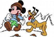 Mickey Mouse and Pluto 2