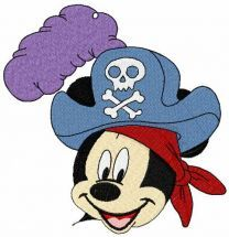 Mickey Mouse pirat 2