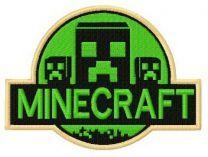 Minecraft badge