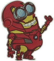 Minion in Iron Man costume