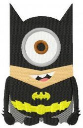 Minion batman costume