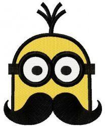 Minion with mustache 2