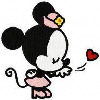 Minnie fell in love