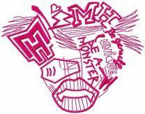 Monster High drawing logo