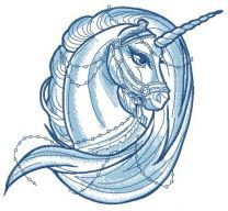 Moonlight unicorn sketch