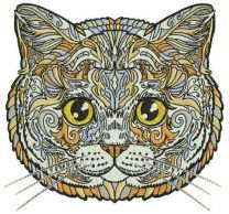Mosaic cat 10