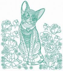Mosaic cat 7