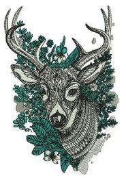 Mosaic deer