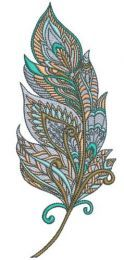 Mosaic feather