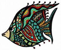 Mosaic fish 3