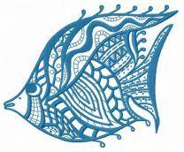 Mosaic fish 4