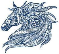 Mosaic horse 3