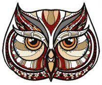Mosaic owl 2