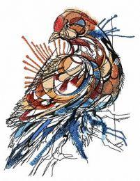 Mosaic pigeon
