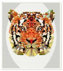 Mosaic tiger 4