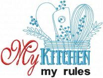 My kitchen my rules