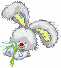 My snowdrops embroidery design