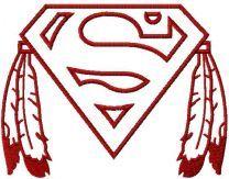 Native Superman logo 2