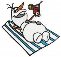 Olaf resting