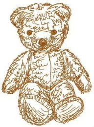 Old bear toy 4