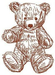 Old bear toy 9