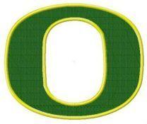 Oregon Ducks cap insignia