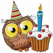 Owl's first birthday 2