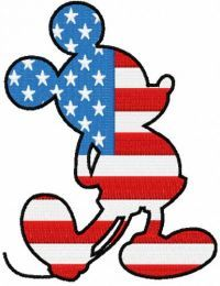 Patriotic Mickey Mouse 3