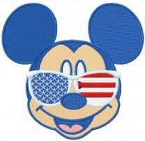 Patriotic Mickey Mouse sunglasses