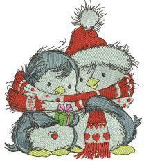Penguin's Christmas time