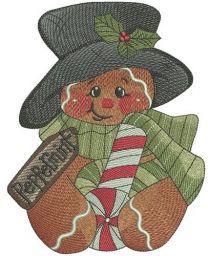 Peppermint gingedbread man