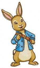 Peter Rabbit embroidery design 4