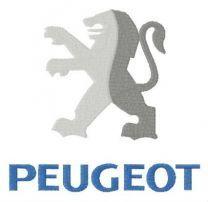 Peugeot alternative logo embroidery design